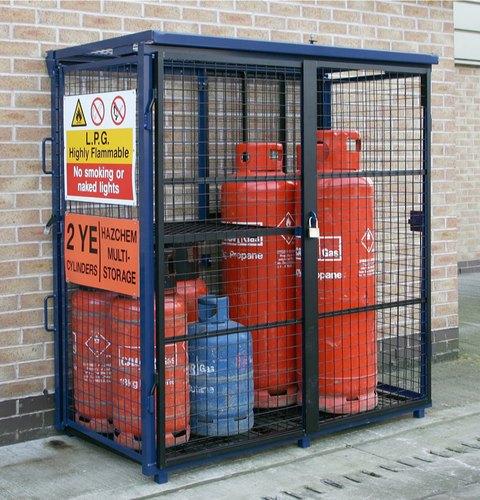 gas-bottle-storage-cage